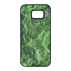 Geological Surface Background Samsung Galaxy S7 Edge Black Seamless Case