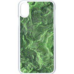 Geological Surface Background Apple Iphone X Seamless Case (white)