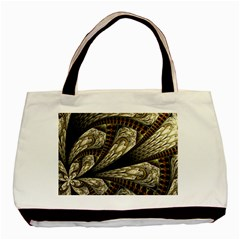 Fractal Abstract Pattern Spiritual Basic Tote Bag (two Sides)