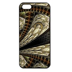 Fractal Abstract Pattern Spiritual Apple Iphone 5 Seamless Case (black)