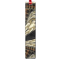 Fractal Abstract Pattern Spiritual Large Book Marks