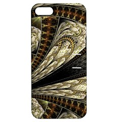 Fractal Abstract Pattern Spiritual Apple Iphone 5 Hardshell Case With Stand
