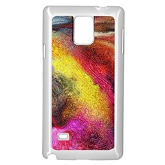 Background Art Abstract Watercolor Samsung Galaxy Note 4 Case (white)