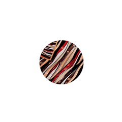 Fabric Texture Color Pattern 1  Mini Magnets