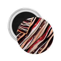 Fabric Texture Color Pattern 2 25  Magnets