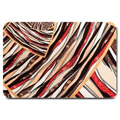 Fabric Texture Color Pattern Large Doormat