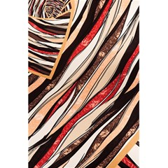 Fabric Texture Color Pattern 5 5  X 8 5  Notebooks