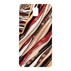 Fabric Texture Color Pattern Samsung Galaxy Note 3 N9005 Hardshell Back Case