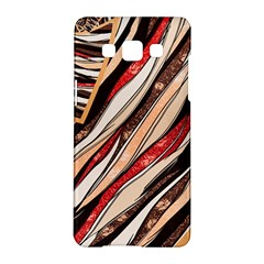 Fabric Texture Color Pattern Samsung Galaxy A5 Hardshell Case