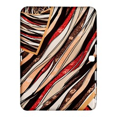 Fabric Texture Color Pattern Samsung Galaxy Tab 4 (10 1 ) Hardshell Case