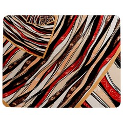 Fabric Texture Color Pattern Jigsaw Puzzle Photo Stand (rectangular)