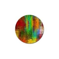 Color Abstract Background Textures Golf Ball Marker (10 Pack)