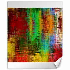 Color Abstract Background Textures Canvas 16  X 20