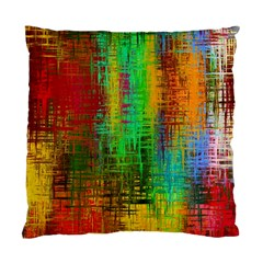 Color Abstract Background Textures Standard Cushion Case (one Side)