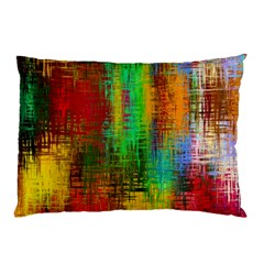 Color Abstract Background Textures Pillow Case