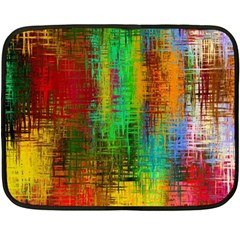 Color Abstract Background Textures Double Sided Fleece Blanket (mini)