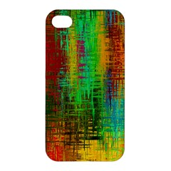 Color Abstract Background Textures Apple Iphone 4/4s Hardshell Case