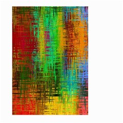 Color Abstract Background Textures Large Garden Flag (two Sides)