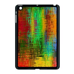 Color Abstract Background Textures Apple Ipad Mini Case (black)