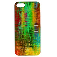 Color Abstract Background Textures Apple Iphone 5 Hardshell Case With Stand