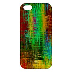 Color Abstract Background Textures Apple Iphone 5 Premium Hardshell Case