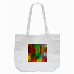 Color Abstract Background Textures Tote Bag (white)