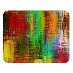 Color Abstract Background Textures Double Sided Flano Blanket (large)