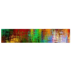 Color Abstract Background Textures Small Flano Scarf