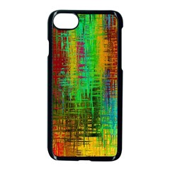 Color Abstract Background Textures Apple Iphone 7 Seamless Case (black)