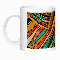 Fabric Texture Color Pattern Night Luminous Mugs
