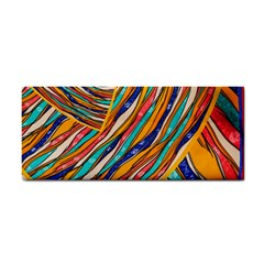 Fabric Texture Color Pattern Cosmetic Storage Cases by Nexatart