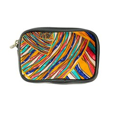 Fabric Texture Color Pattern Coin Purse