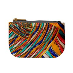 Fabric Texture Color Pattern Mini Coin Purses