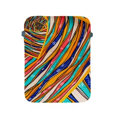 Fabric Texture Color Pattern Apple Ipad 2/3/4 Protective Soft Cases