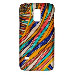 Fabric Texture Color Pattern Galaxy S5 Mini