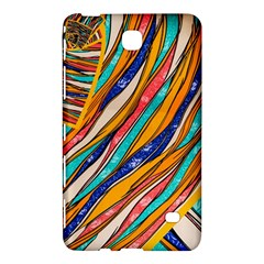 Fabric Texture Color Pattern Samsung Galaxy Tab 4 (7 ) Hardshell Case