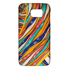 Fabric Texture Color Pattern Galaxy S6
