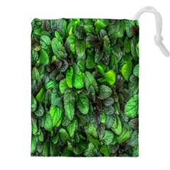 The Leaves Plants Hwalyeob Nature Drawstring Pouches (xxl)