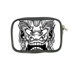 Japanese Onigawara Mask Devil Ghost Face Coin Purse Back