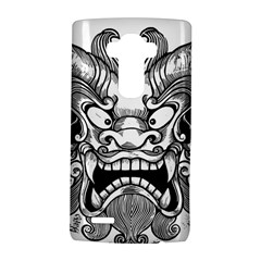 Japanese Onigawara Mask Devil Ghost Face Lg G4 Hardshell Case by Alisyart