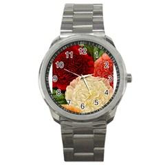 Flowers 1776584 1920 Sport Metal Watch by vintage2030