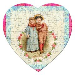 Kids Heart Jigsaw Puzzle (heart) by vintage2030