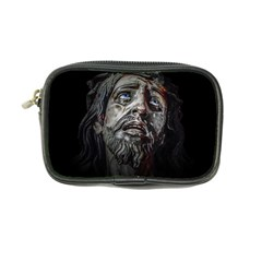 Jesuschrist Face Dark Poster Coin Purse by dflcprints