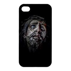 Jesuschrist Face Dark Poster Apple Iphone 4/4s Hardshell Case by dflcprints