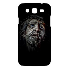 Jesuschrist Face Dark Poster Samsung Galaxy Mega 5 8 I9152 Hardshell Case  by dflcprints