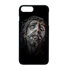 Jesuschrist Face Dark Poster Apple Iphone 7 Plus Seamless Case (black) by dflcprints