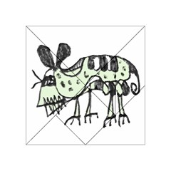 Monster Rat Pencil Drawing Illustration Acrylic Tangram Puzzle (4  X 4 ) by dflcprints