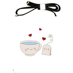 Cute Tea Shoulder Sling Bags by Valentinaart