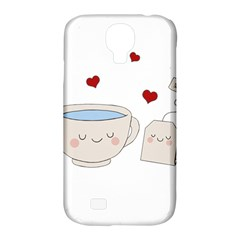 Cute Tea Samsung Galaxy S4 Classic Hardshell Case (pc+silicone) by Valentinaart
