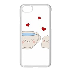 Cute Tea Apple Iphone 8 Seamless Case (white) by Valentinaart